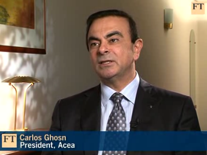 Ghosn at FT