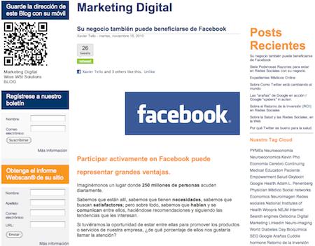 Su negocio también puede beneficiarse de Facebook