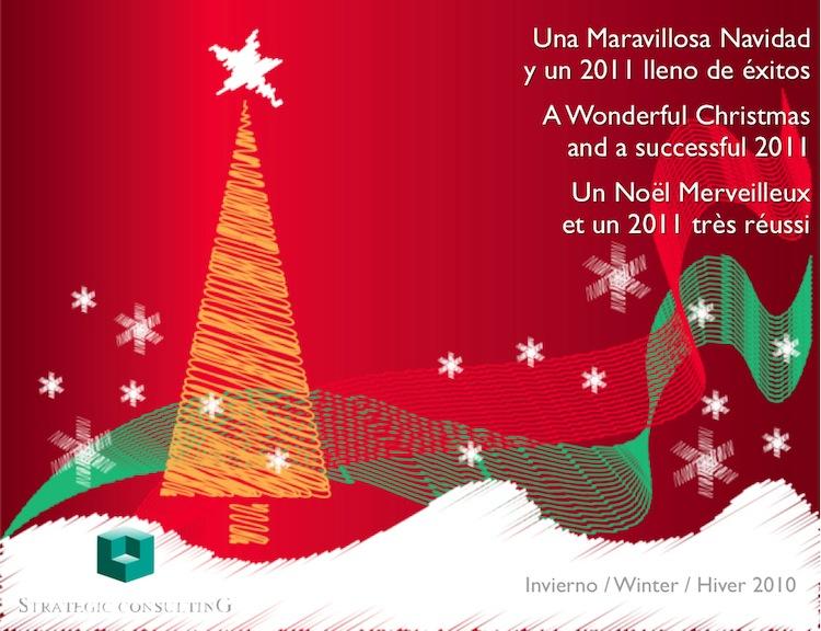 Una Maravillosa Navidad  y un 2011 lleno de éxitos / A Wonderful Christmas  and a successful 2011 / Un Noël Merveilleux  et un 2011 très réussi