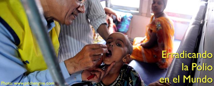 Erradicando la Polio en el mundo